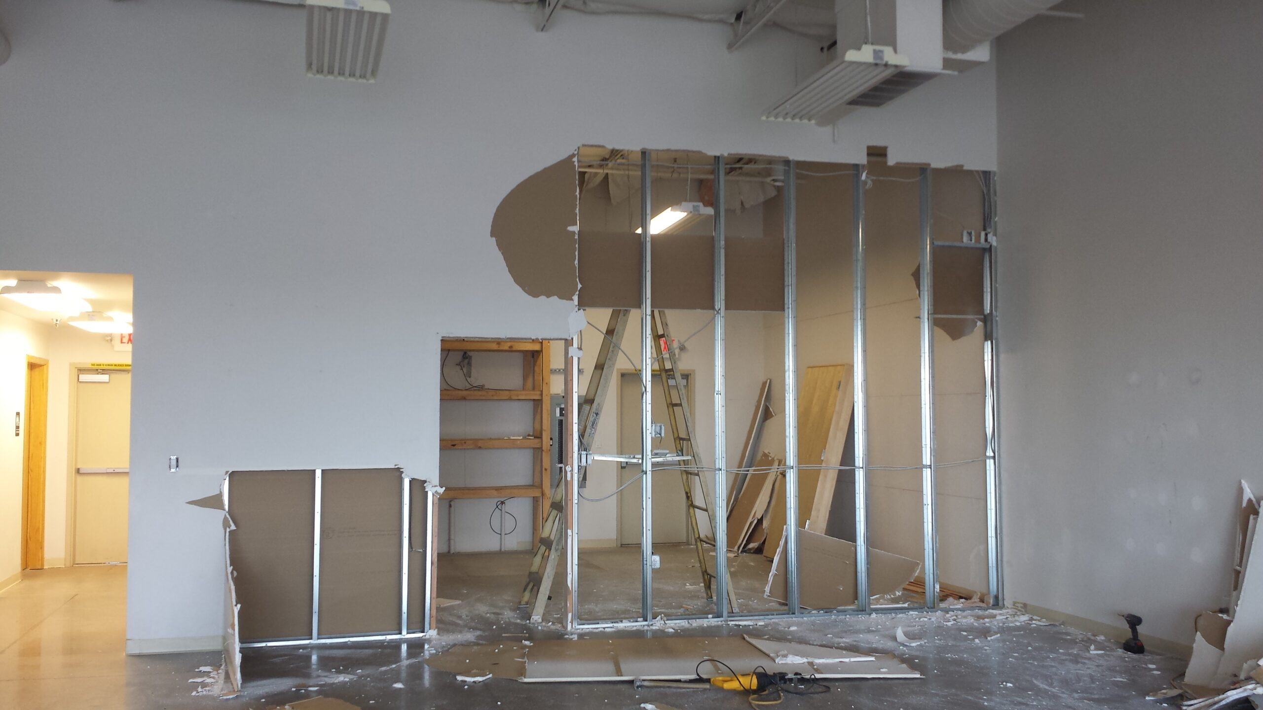 image showing remodel construction site