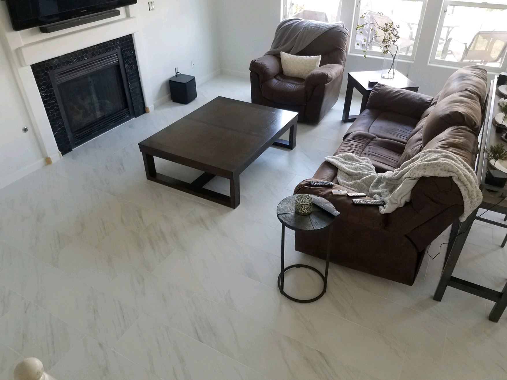 image showing floor remodel