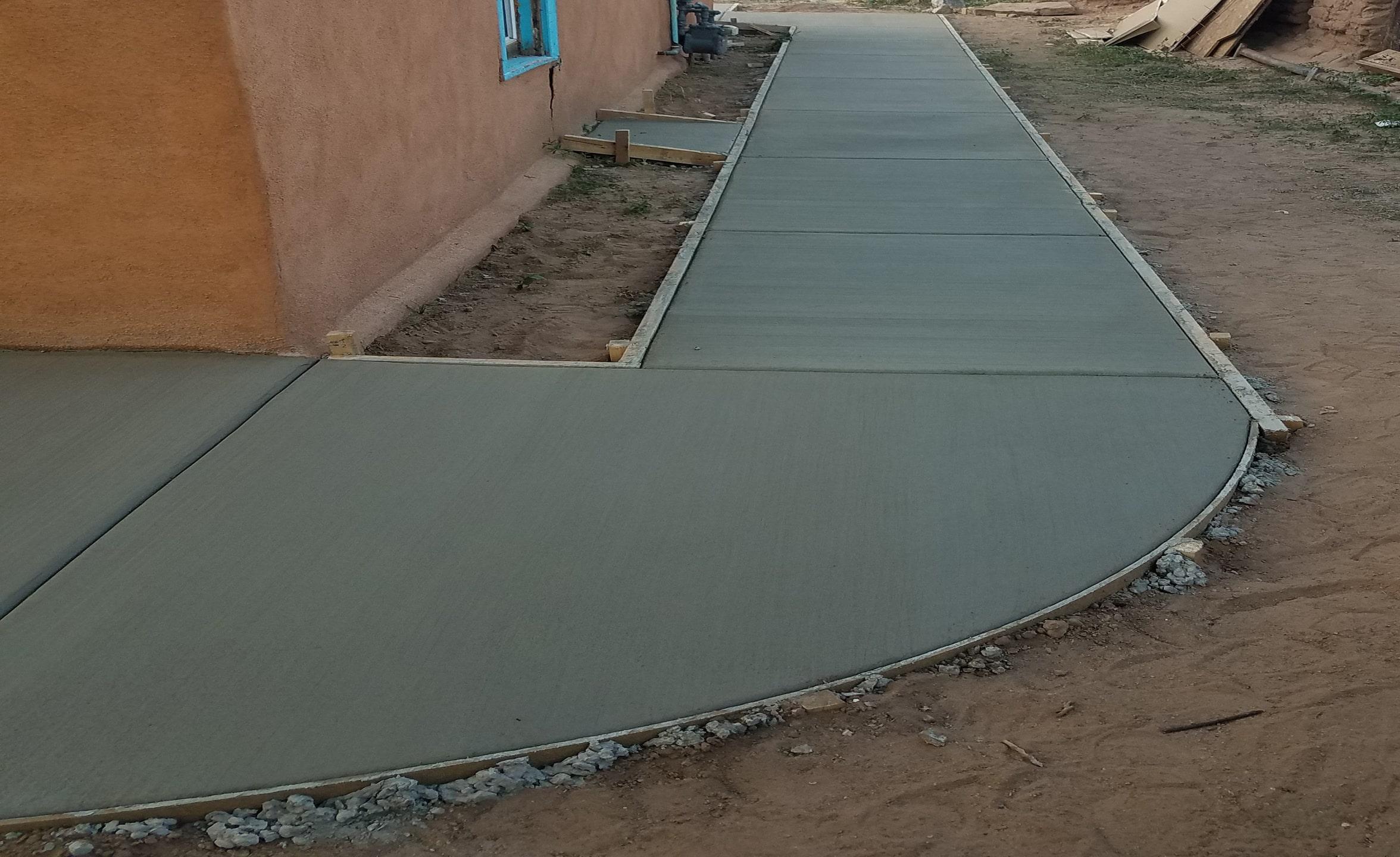 Image showing concrete pour